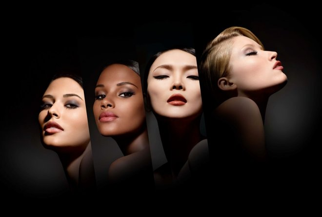 4 Models horizontalC MAKE UP FOR EVER