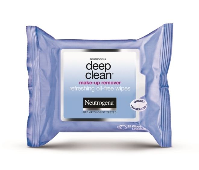 Neutrogena_Deep Clean Makeup Remover wipes